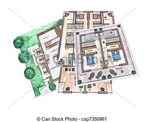 house architecture plan stock photography image 5591532 clipart of architecture building plans office plan