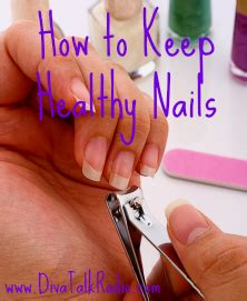 How To Maintain Healthy Beautiful Nails by How To Keep Healthy Nails