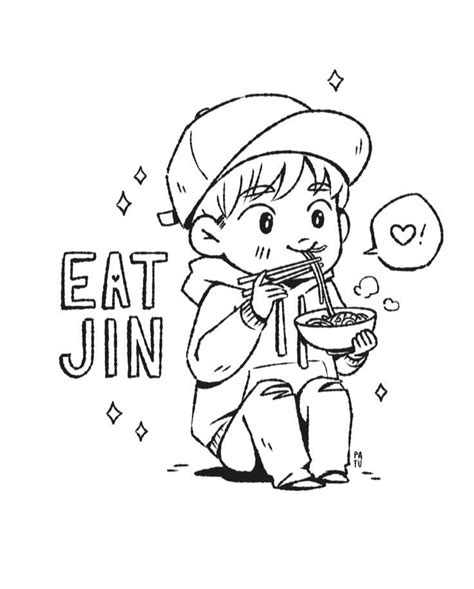 Bts V Coloring Pages by Jin Coloring Page Army S Amino