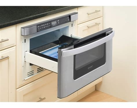 Sharp Drawer Microwave by 24 Inch Built In Microwave Drawers From Sharp Kb 6524ps
