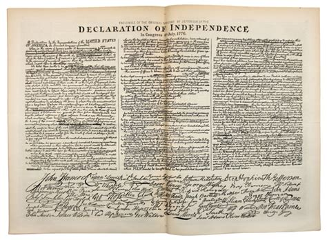 thomas jefferson declaration of independence declaration of independence rich in history