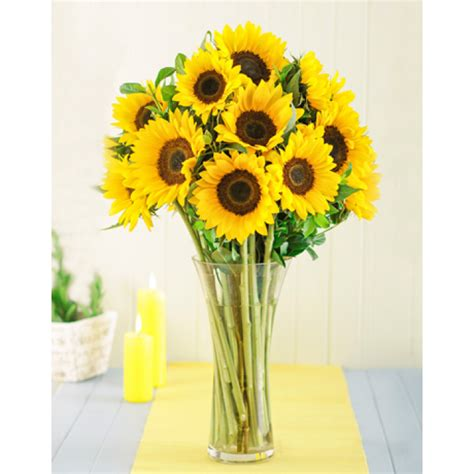 Sunflowers In Vase by Sunflowers In A Vase Inmotion Flowers