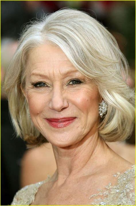 aging gracefully hairstyles  older women elle hairstyles