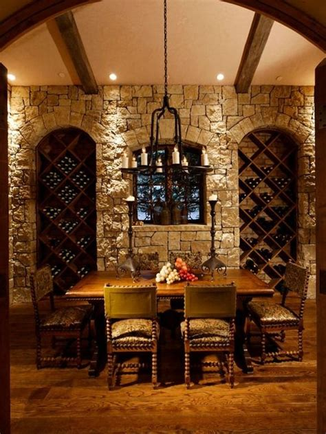 wine room cave for the home