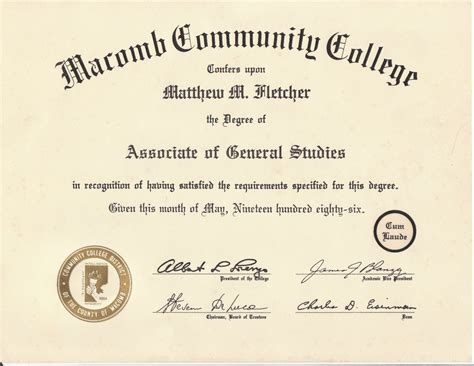 Aa As Ba Bs Mba Degree What Is It by Macomb County Home Inspectors 313 510 0284