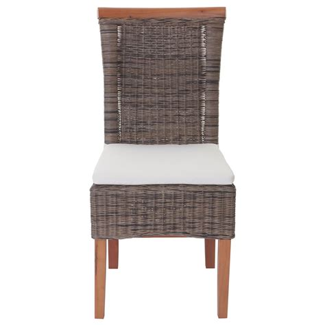 6x esszimmerstuhl sinio stuhl lehnstuhl rattan mit - Esszimmerstuhl Kissen