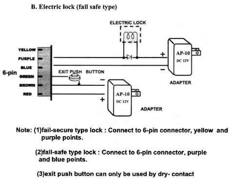 magnetic door lock wiring diagram pi manufacture