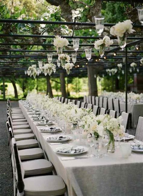 backyard wedding reception decorations outdoor weddings romantic decoration