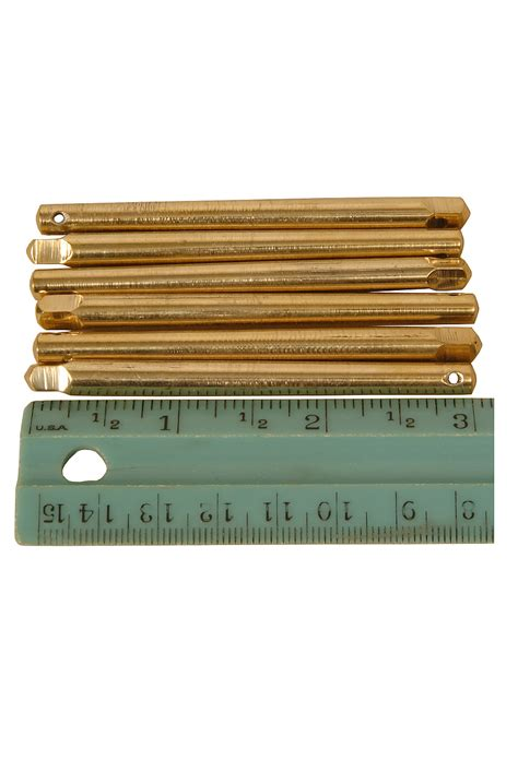 6 inch l harp roosebeck harp tuning pins 3 1 8 inch 6 pack brass www