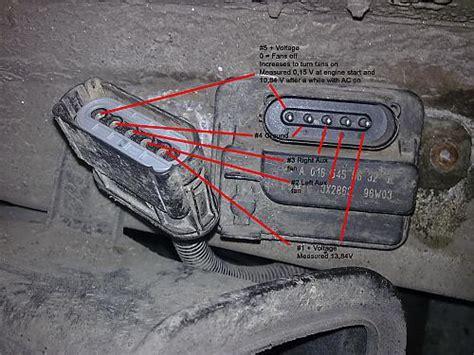 mercedes cooling fan wiring diagram wiring diagrams