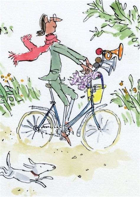 libro mrs armitage on wheels de 24 b 228 sta quirk inspired by quentin blake s animals bilderna p 229