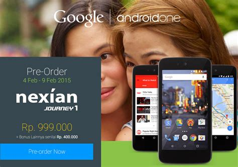 nexian journey 1 android one resmi hadir di indonesia mobile88