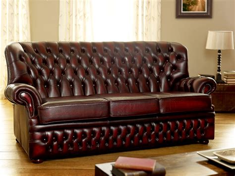 Kursi Santai Wing Chair monks leather chesterfield
