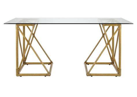 brass and glass desk brass desk