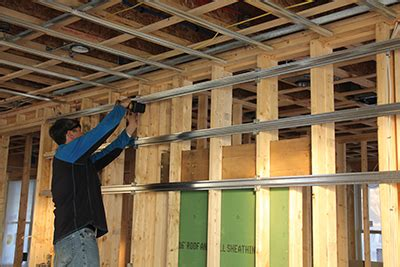 How To Install Resilient Channel On Ceiling by Soundproofing Methods For Walls And Ceilings How To