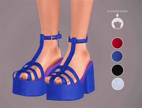 sims 4 platform heels my sims 3 blog platform shoes by ikari
