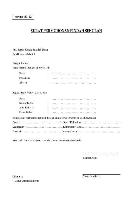 Contoh Surat Resmi Permohonan Pembelian Barang by 10 Contoh Surat Permohonan Dengan Penulisan Yang Baik Dan