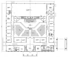 Floor Plans For Churches by Church Plan 152 Lth Steel Structures