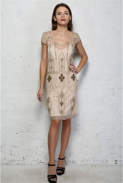 beaded ivory dress ivory beaded flapper dress vintage sequinned dress