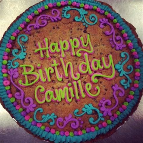 Cookie Cake Decorating Ideas by Happy Birthday Cookie Cakes Oh Baby Baby