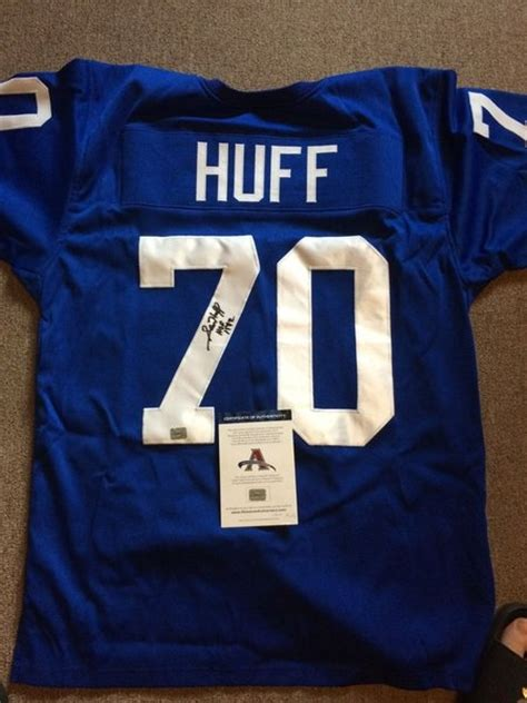 replica throwback blue cutler 6 jersey valuable p 1571 70 sam huff new york giants nfl lb blue throwback jersey
