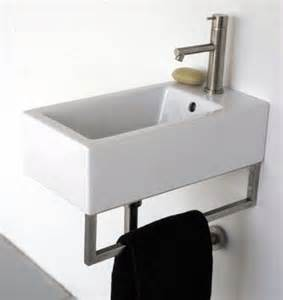bathroom sink for small space or powder room bath ideas - Small Space Bathroom Sinks