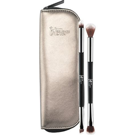 Dual Ended Makeup Brush you re easy on the dual ended eyeshadow brush set