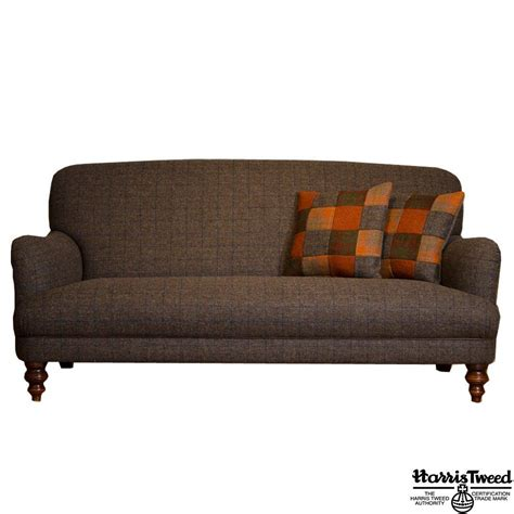 Tetrad Sofa Bed by Tetrad Braemar Midi Harris Tweed Sofa Available To Buy