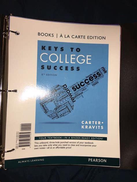 irsc code keys to college success sls 1101 student success