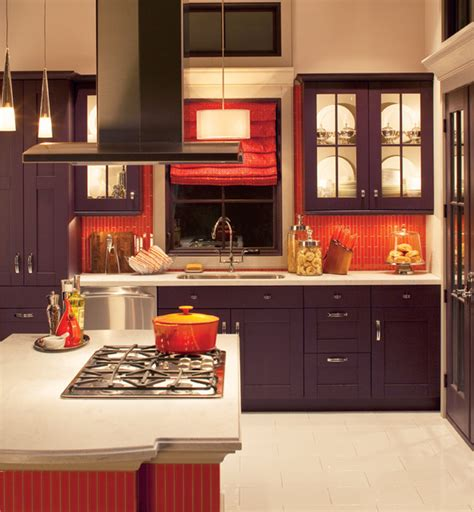 bold orange backsplash traditional kitchen other
