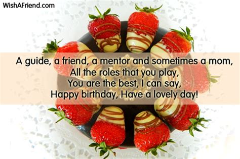 Happy Birthday Wishes To A Mentor Birthday Wishes For Sister