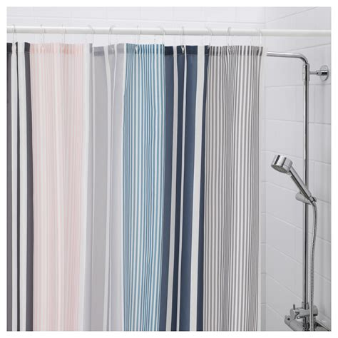 Ikea Textiles Curtains Decorating Bolm 197 N Shower Curtain Multicolour 180x180 Cm Ikea