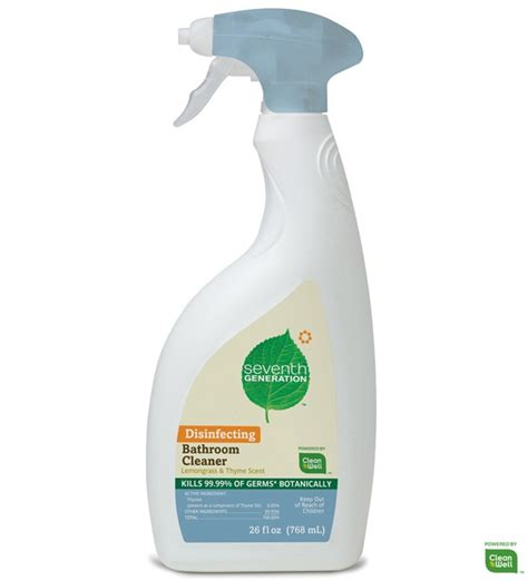 seventh generation bathroom cleaner 17 best images about green living on pinterest stains