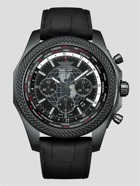 breitling bentley limited edition breitling luxury for bentley b05 unitime midnight carbon