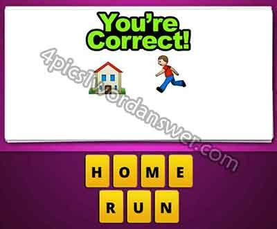 what does run of the house mean guess the emoji house and boy running 4 pics 1 word game answers what s the word emoji