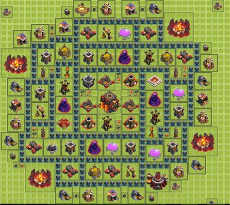 layout for town hall 10 updates clash of clans town hall 11