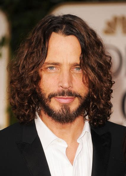 chris cornell photos photos 69th annual golden globe