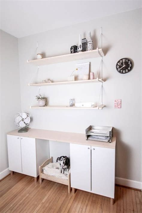 ikea storage hacks from generic office to stylish and productive home office