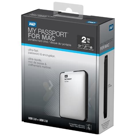 Hdd Wd Usb 20 wd my passport for mac 2tb portable external drive storage usb 3 0 personal computers in