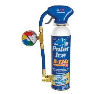 525 Polar Ice 19oz A/C Recharge Kit R134A Freon Refrigerant