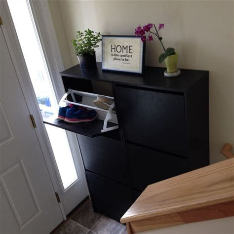 split level entryway small split level entryway with ikea bissa shoe cabinets
