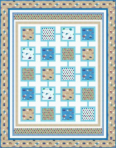 Boy Quilt Pattern by Free Pattern Simply Sweet For Boys And Ivory