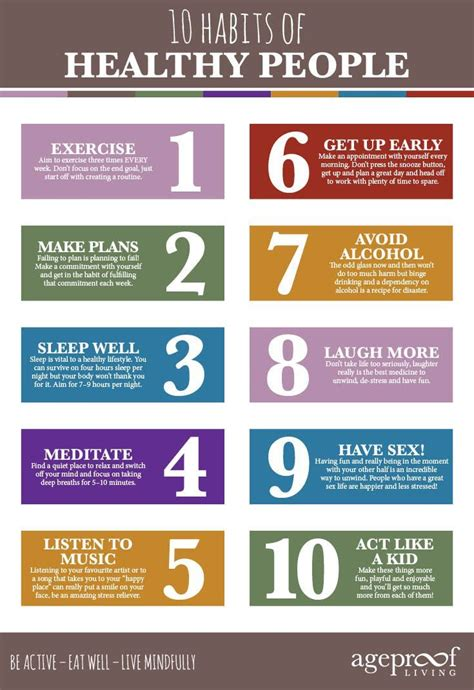 heartful habits natural health and wellness top ten habits of healthy people to prevent aging and to