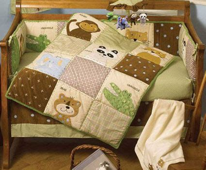 crown crafts bedding shop day at the zoo 4 piece baby crib bedding set by nojo