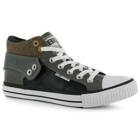 fold sneakers knights mens roco fold pu trainers sneakers