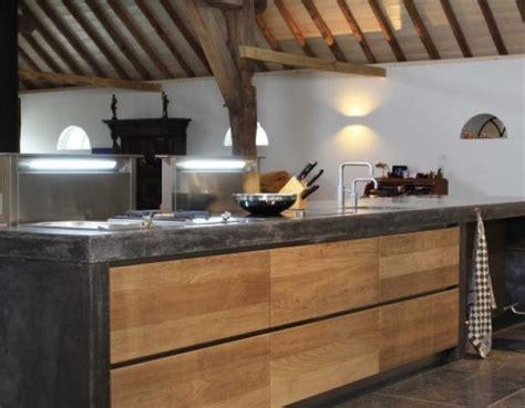 keuken hout en beton mooie keuken met combinatie hout en beton kitchen ll