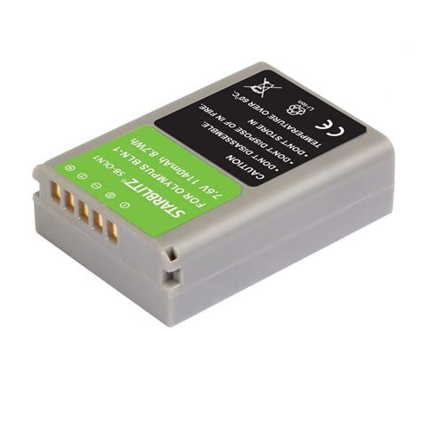 Olympus Bln 1 Battery rechargeable lithium ion battery to replace olympus bln 1 7 6v 1140 mah