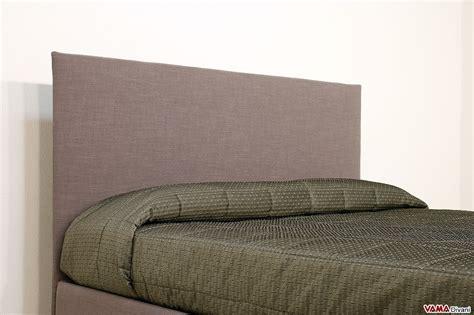 letto in tessuto letto imbottito in tessuto con contenitore testata semplice