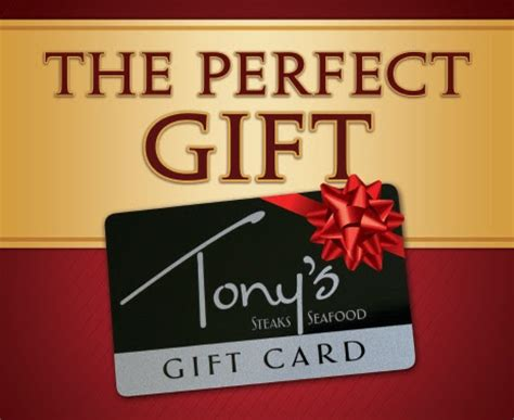 List Of Opentable Gift Card Restaurants - tonys steaks and seafood shop