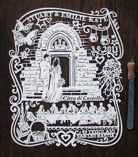 Wedding Anniversary Paper by Papercuts For Wedding Anniversaries Madebyjulene